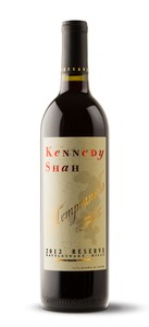 2013 Kennedy Shah Reserve Tempranillo